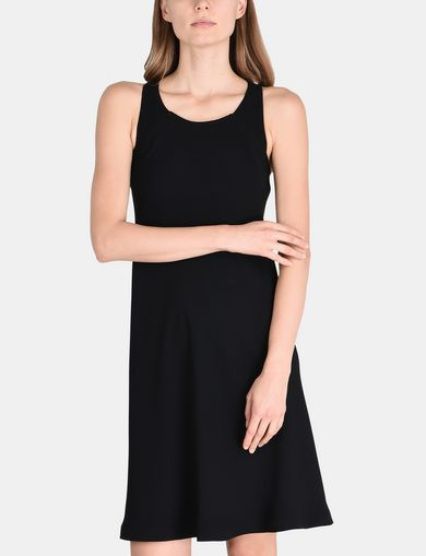 TIE-NECK TANK DRESS