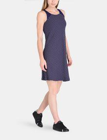 ARMANI EXCHANGE TIE-NECK TANK DRESS Mini dress Woman a
