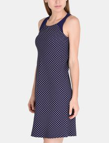 ARMANI EXCHANGE TIE-NECK TANK DRESS Mini dress Woman d