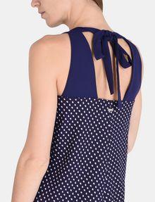 ARMANI EXCHANGE TIE-NECK TANK DRESS Mini dress Woman e
