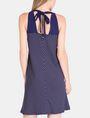 ARMANI EXCHANGE TIE-NECK TANK DRESS Mini dress Woman r