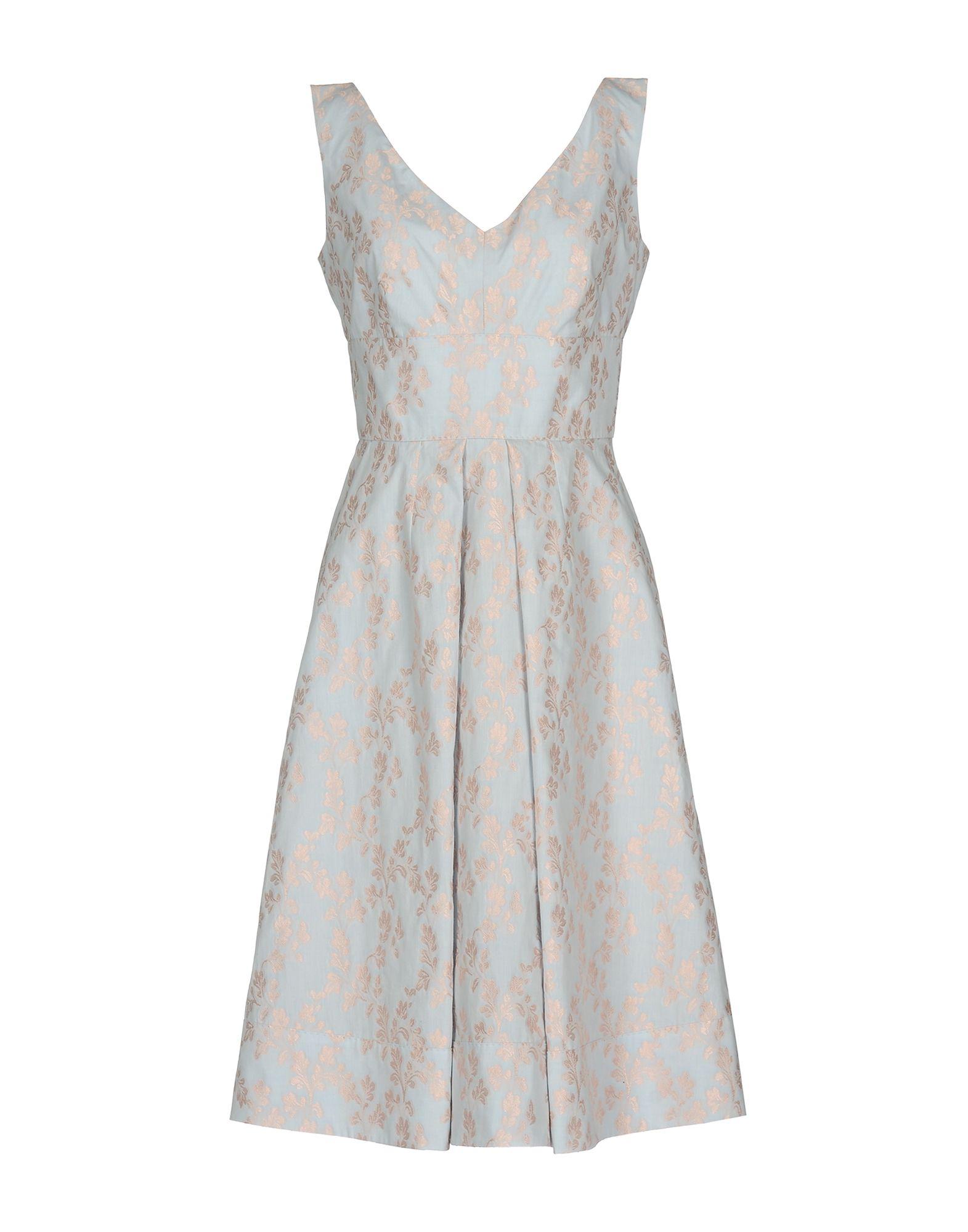 MANTÙ Платье до колена недорго, оригинальная цена