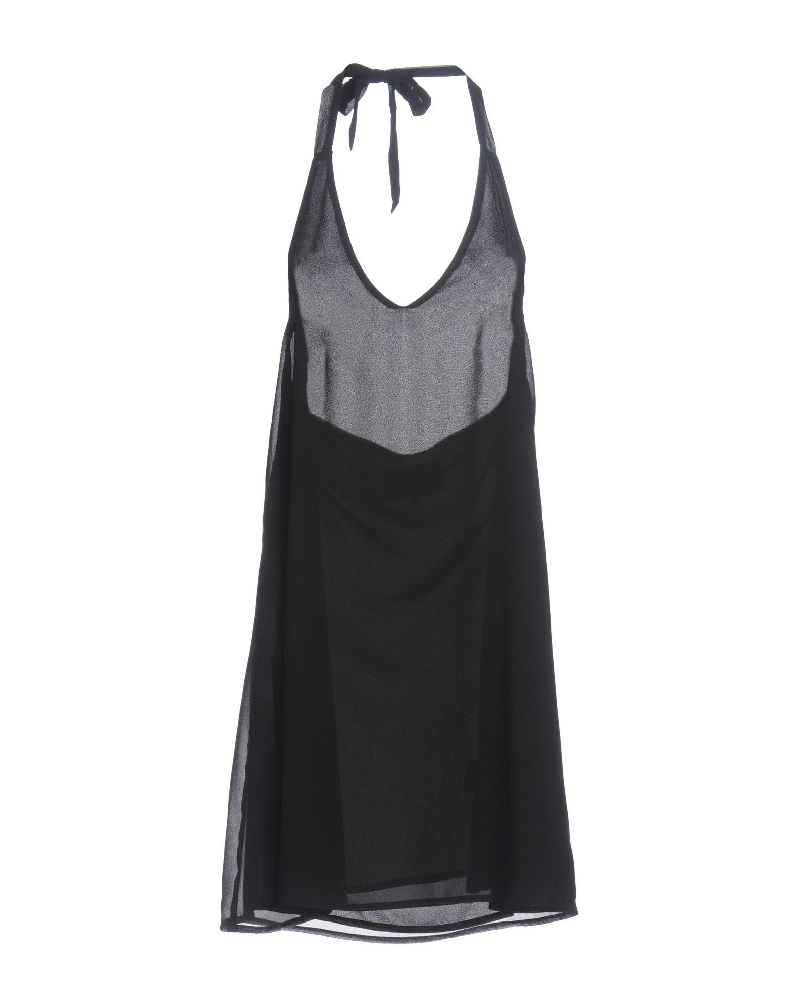 POP COPENHAGEN Короткое платье lovaru ™летом стиль 2015 шифон рукавов шить цветной печати мини платье моды случайные платье