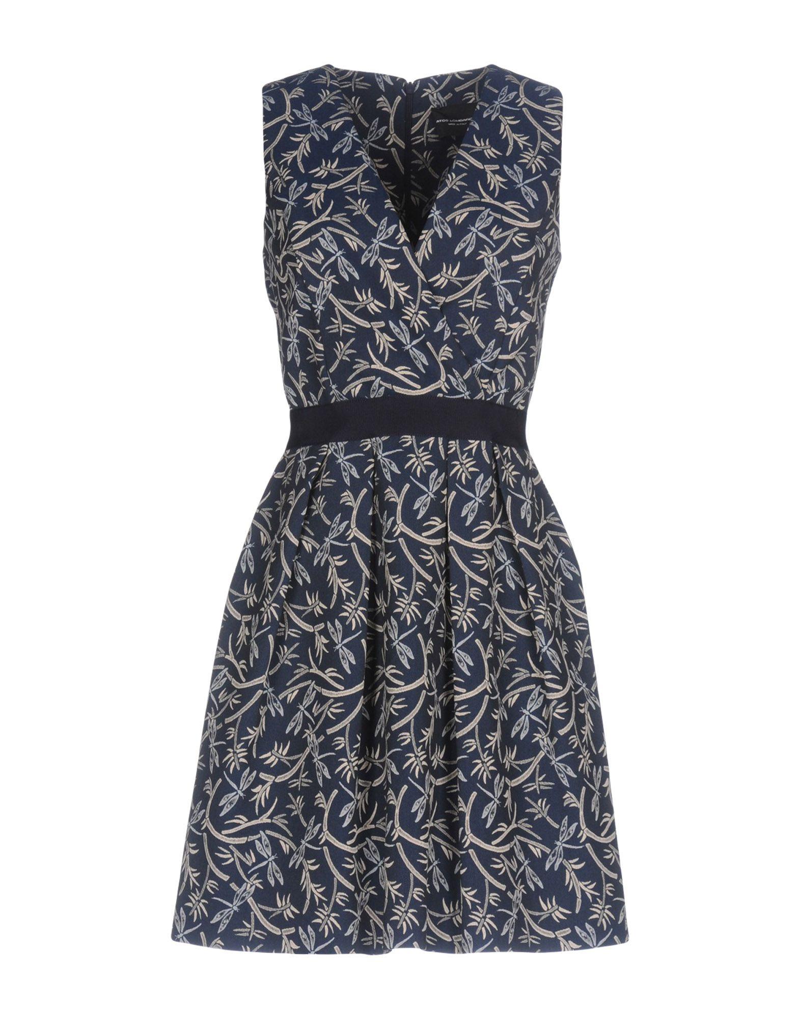 ФОТО atos lombardini короткое платье