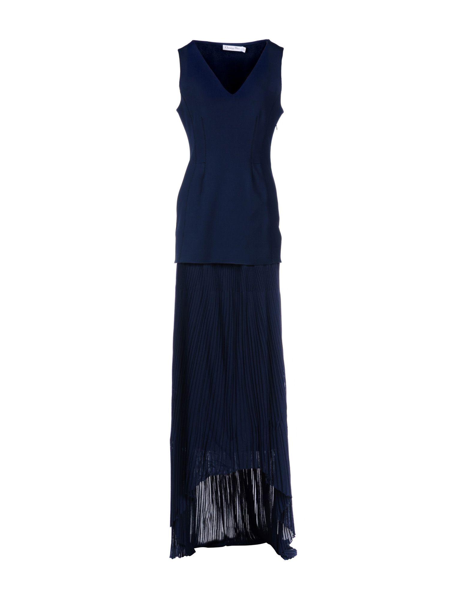 DIOR Длинное платье dior homme шарф