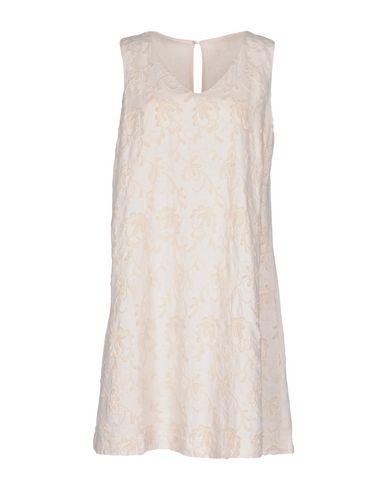 Фото - Женское короткое платье 120% цвет слоновая кость