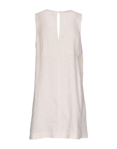 Фото 2 - Женское короткое платье 120% цвет слоновая кость
