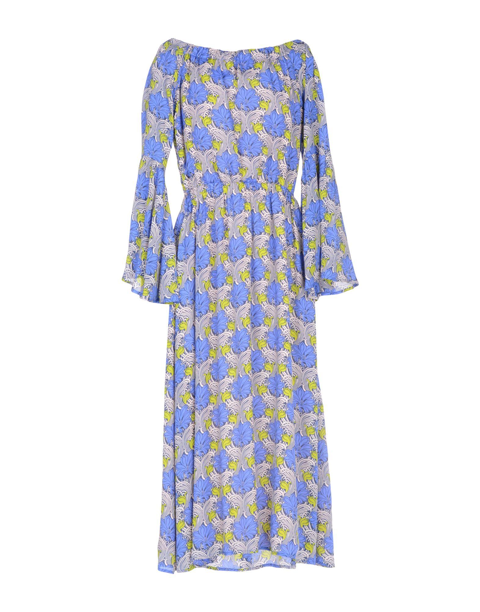 ATOS LOMBARDINI Платье длиной 3/4 atos atos lombardini юбка длиной 3 4