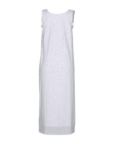 Фото 2 - Платье длиной 3/4 серого цвета