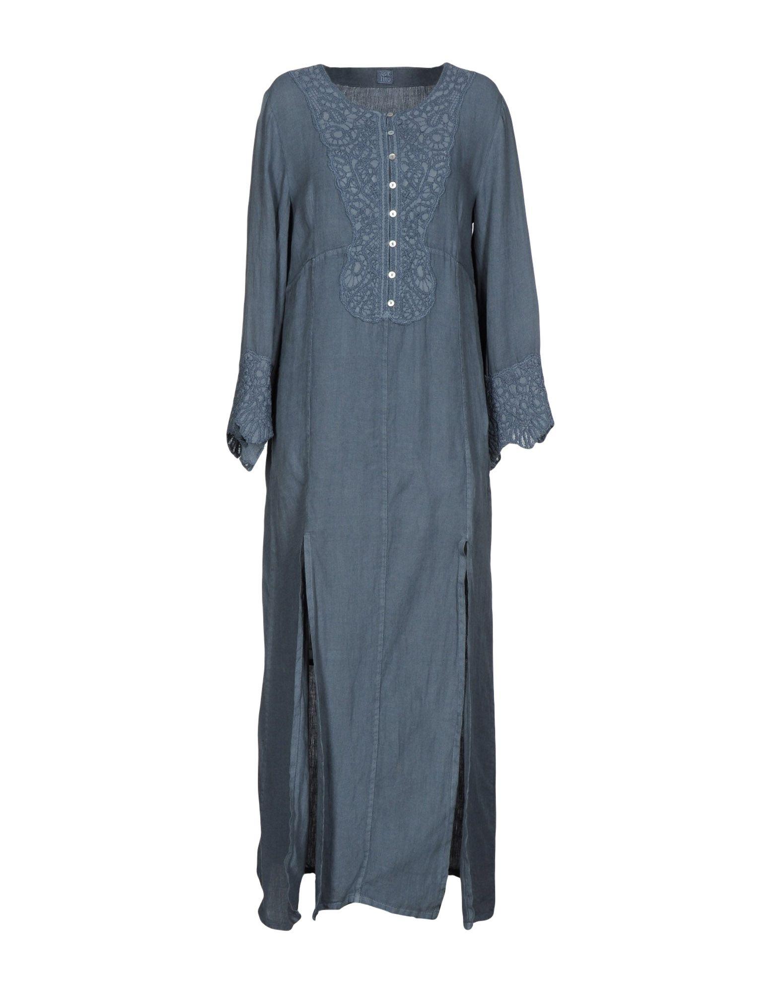120% LINO Длинное платье рубашки lino russo рубашка индиго