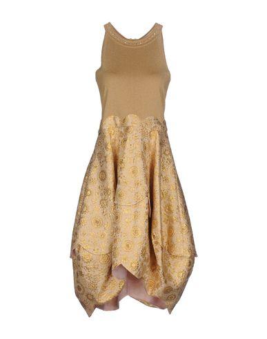 Фото - Платье до колена цвет верблюжий