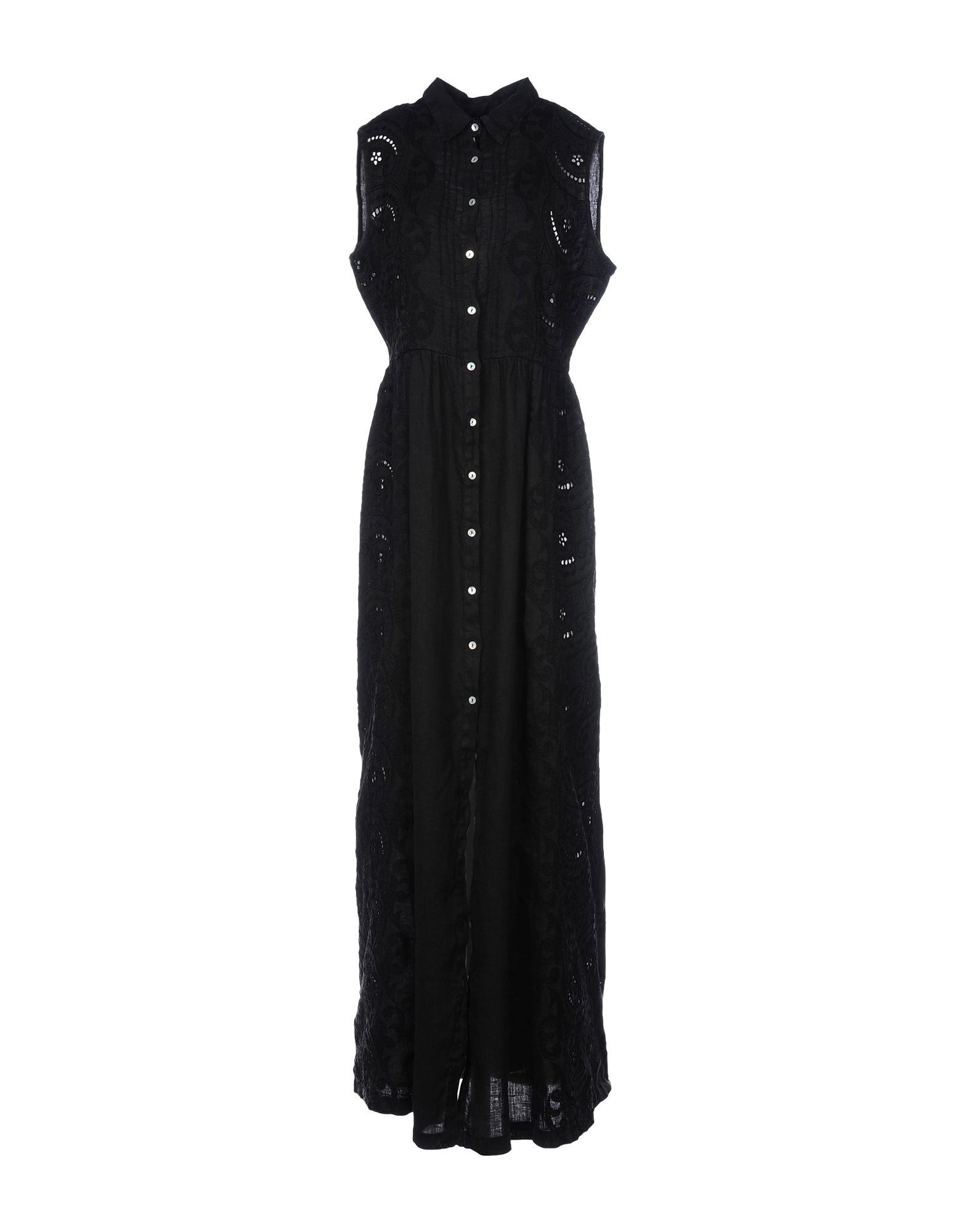 120% LINO Длинное платье