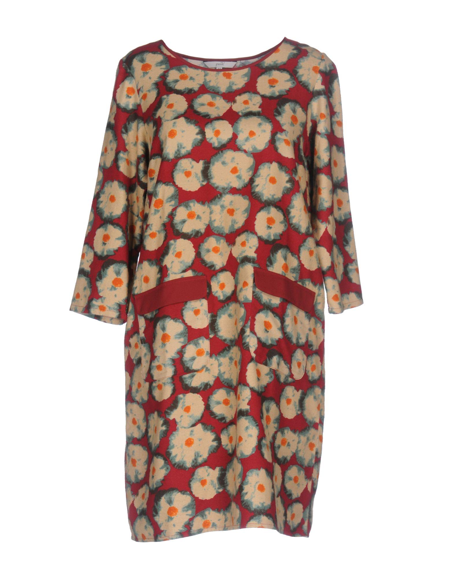 GAZEL Короткое платье цена 2017