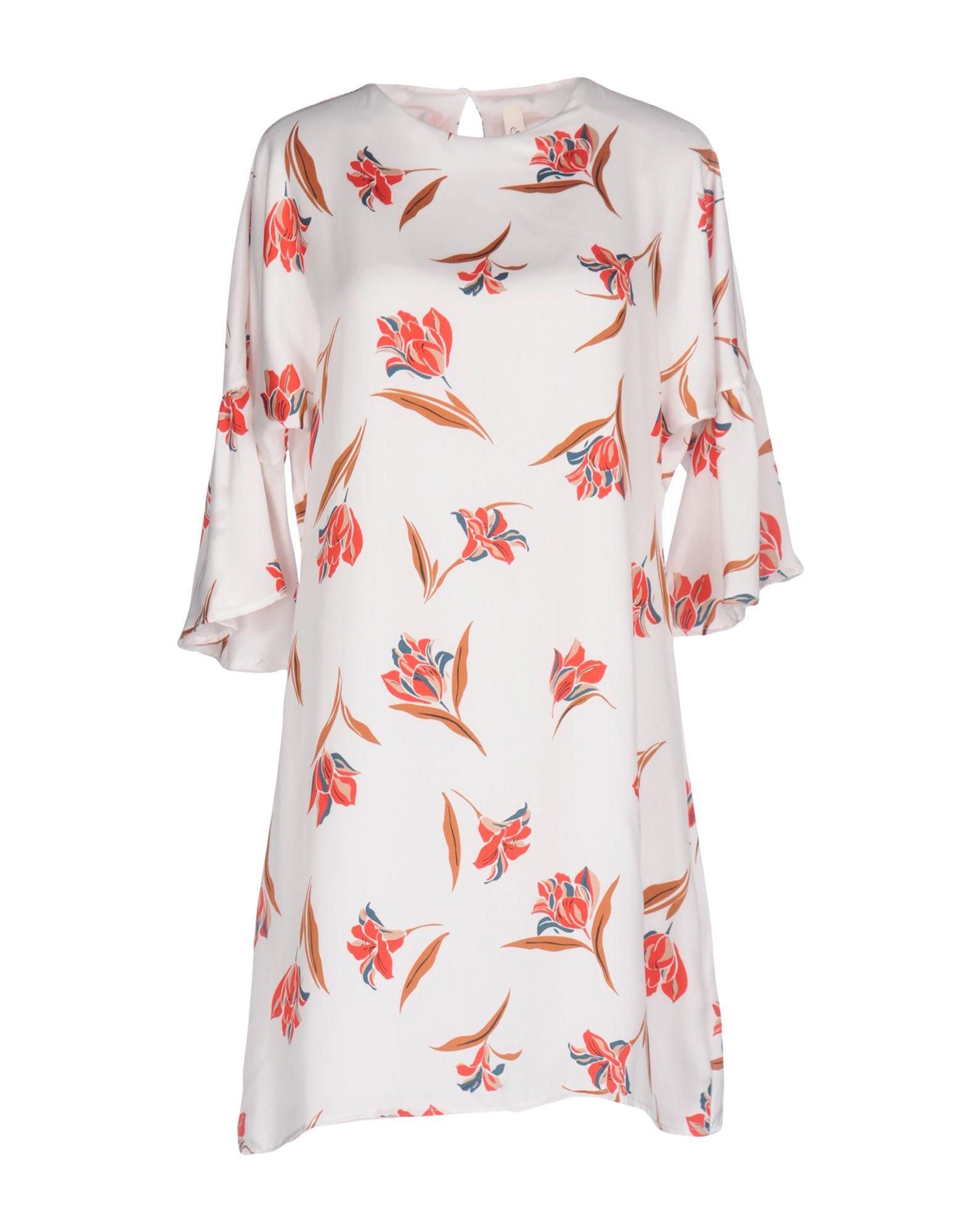 SOUVENIR Короткое платье souvenir платье длиной 3 4