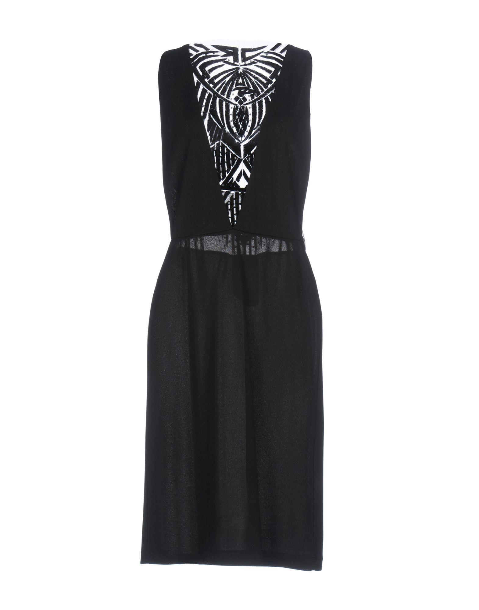 JOHN RICHMOND Платье до колена цена 2017