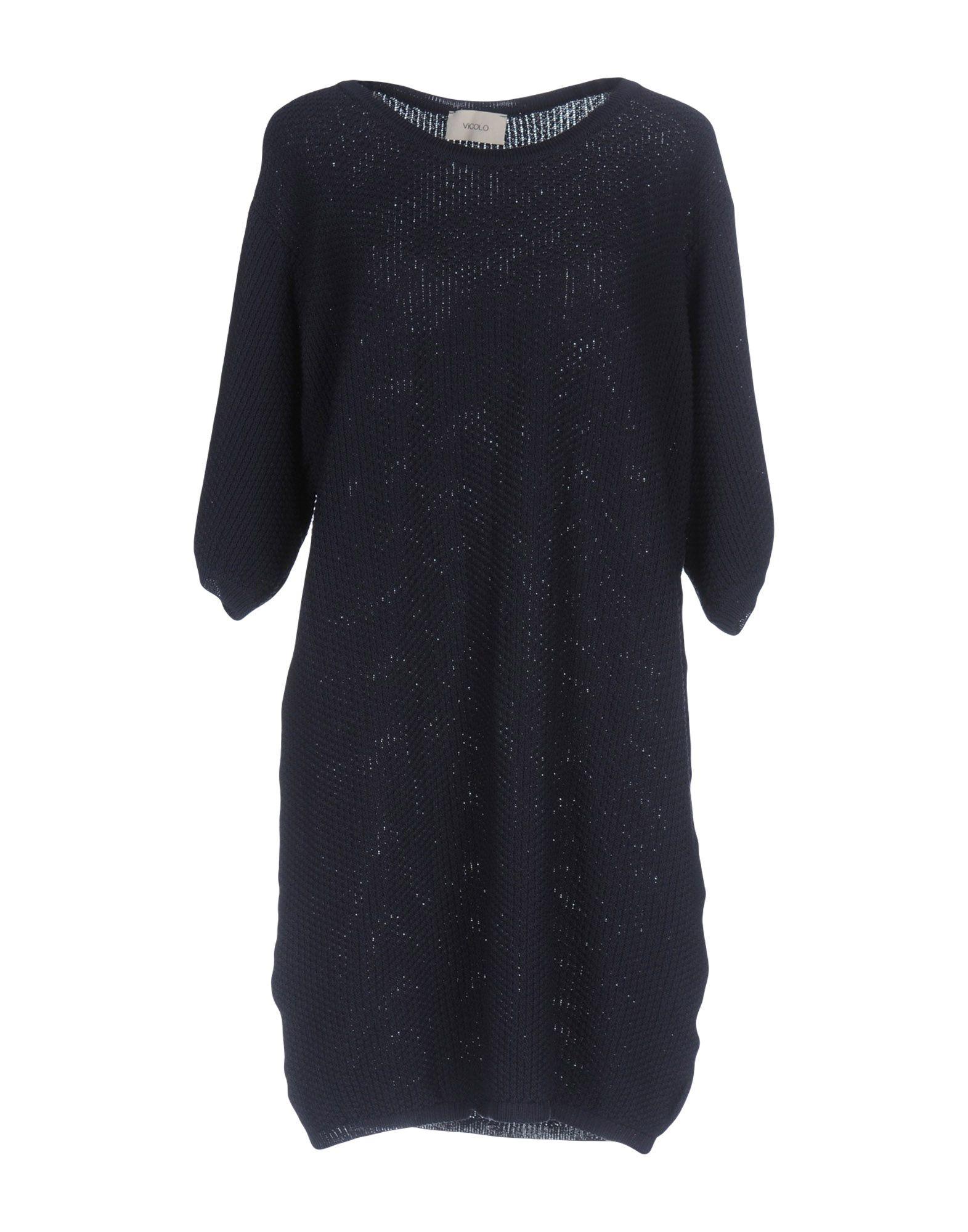 VICOLO Damen Pullover Farbe Dunkelblau Größe 1
