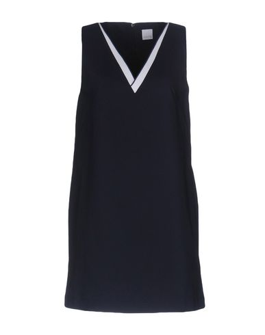 Фото - Женское короткое платье CO|TE темно-синего цвета