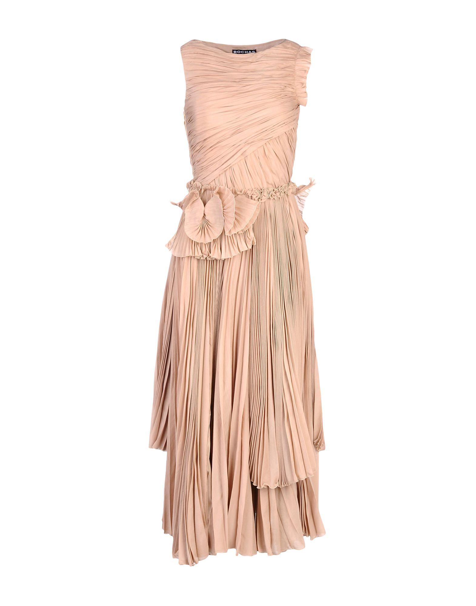 ROCHAS Платье до колена lc150x01 sl01 lc150x01 sl 01 lcd display screens