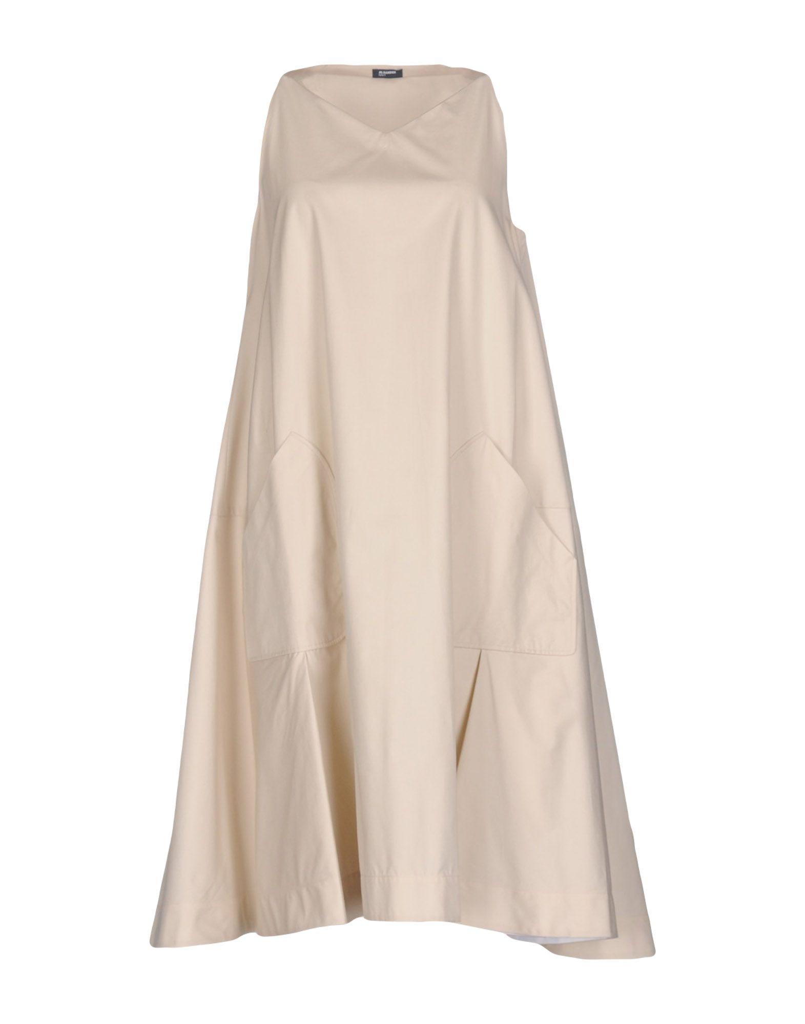 JIL SANDER NAVY Платье до колена jil sander платье до колена