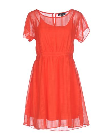 Фото - Женское короткое платье CUTIE красного цвета