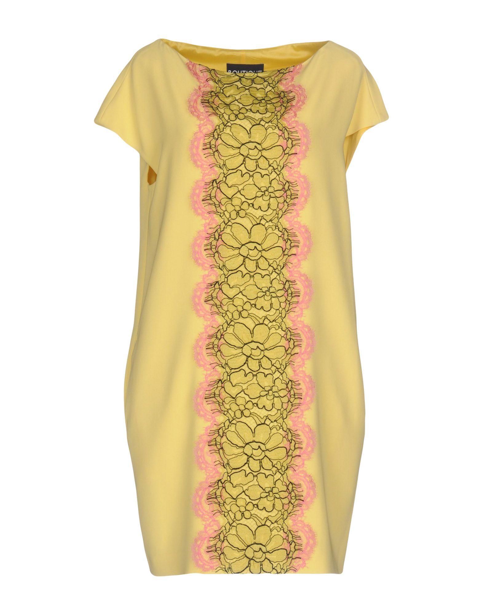 BOUTIQUE MOSCHINO Короткое платье moschino короткое платье
