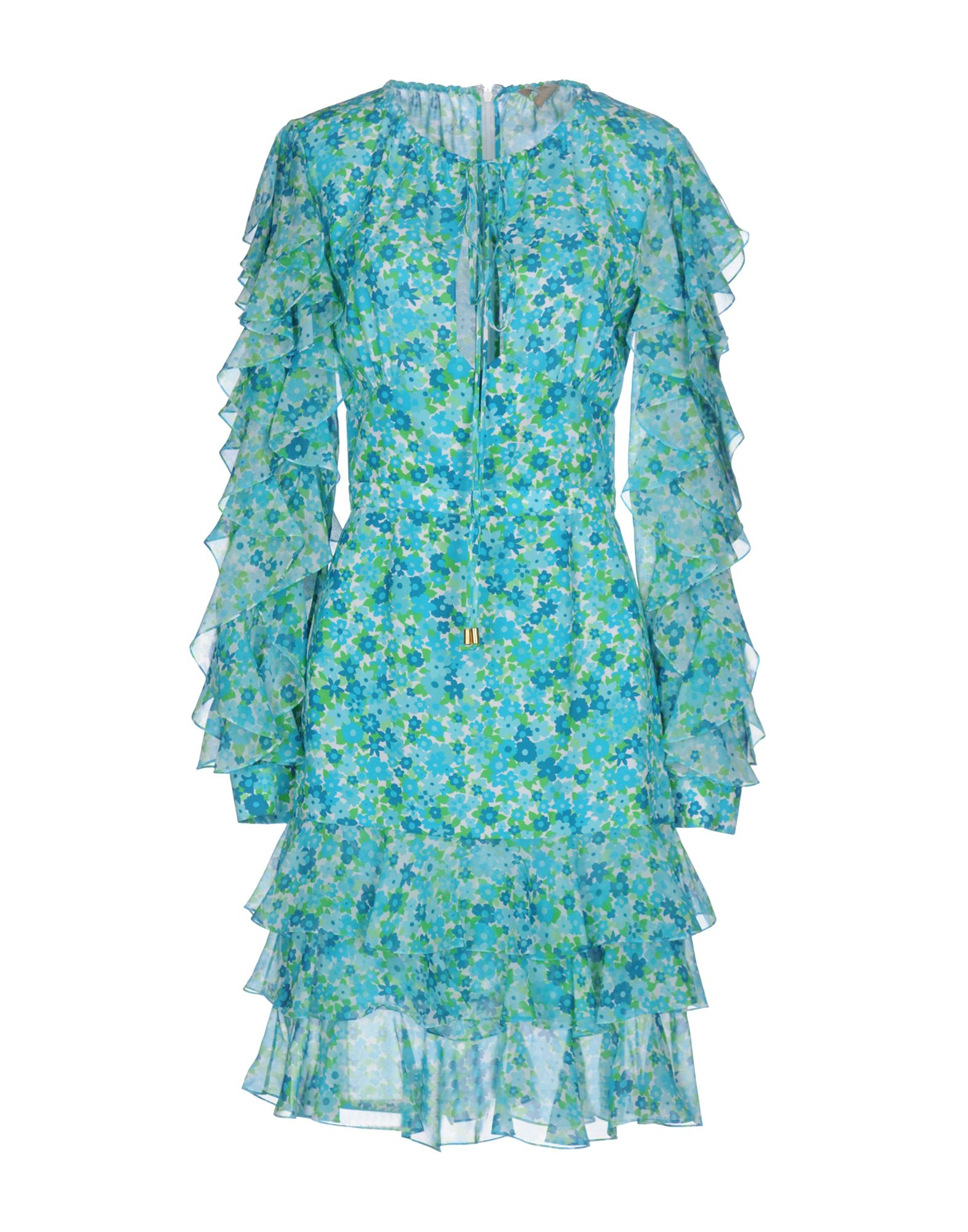 MICHAEL KORS COLLECTION Платье до колена michael kors collection сандалии byrne