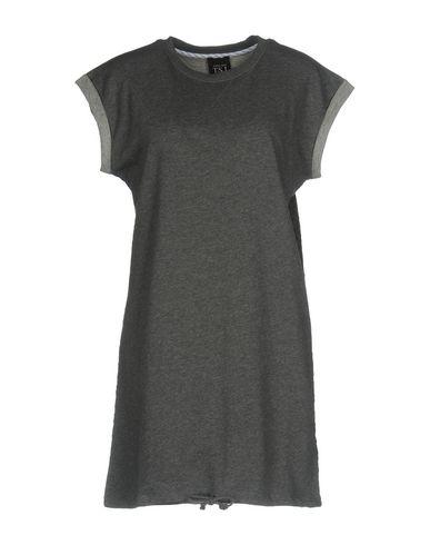 Фото - Женское короткое платье TWIN-SET JEANS серого цвета