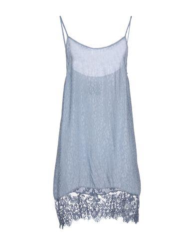 Фото - Женское короткое платье PINK MEMORIES небесно-голубого цвета