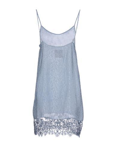 Фото 2 - Женское короткое платье PINK MEMORIES небесно-голубого цвета