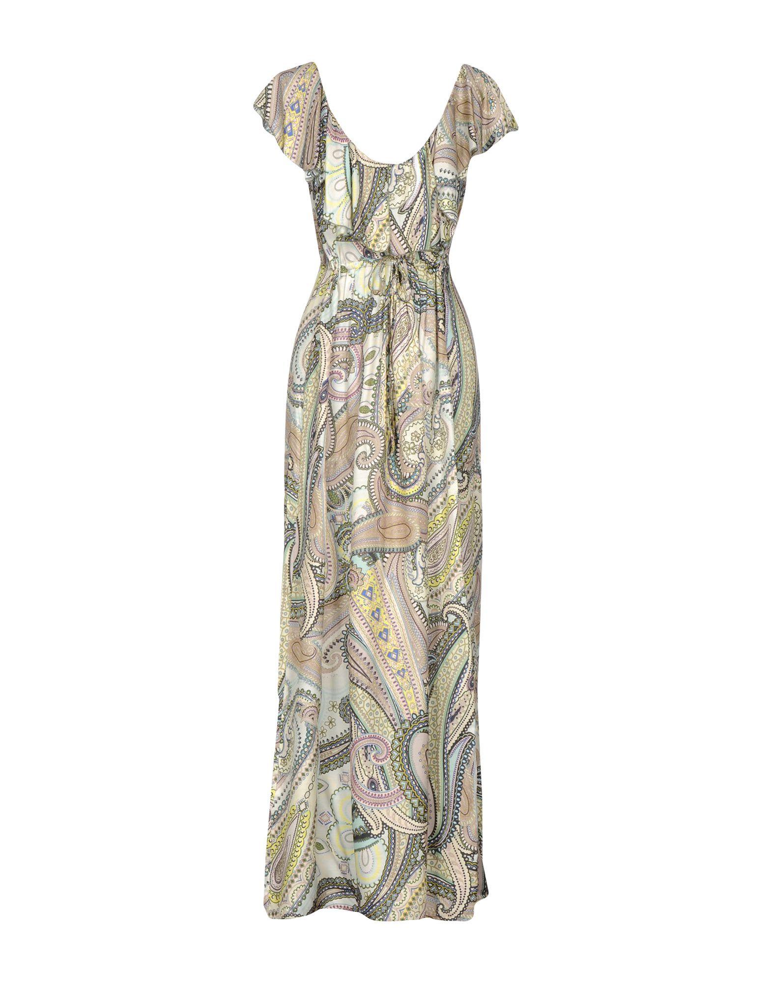 PINK MEMORIES Длинное платье платье длинное с рисунком пейсли