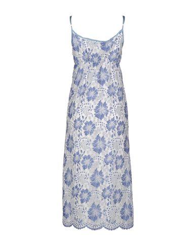 Фото 2 - Платье длиной 3/4 от PINK MEMORIES синего цвета