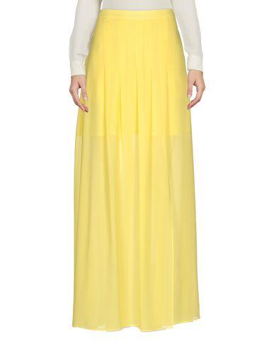 Фото - Длинная юбка желтого цвета