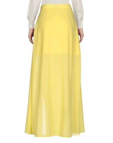 Фото 2 - Длинная юбка желтого цвета
