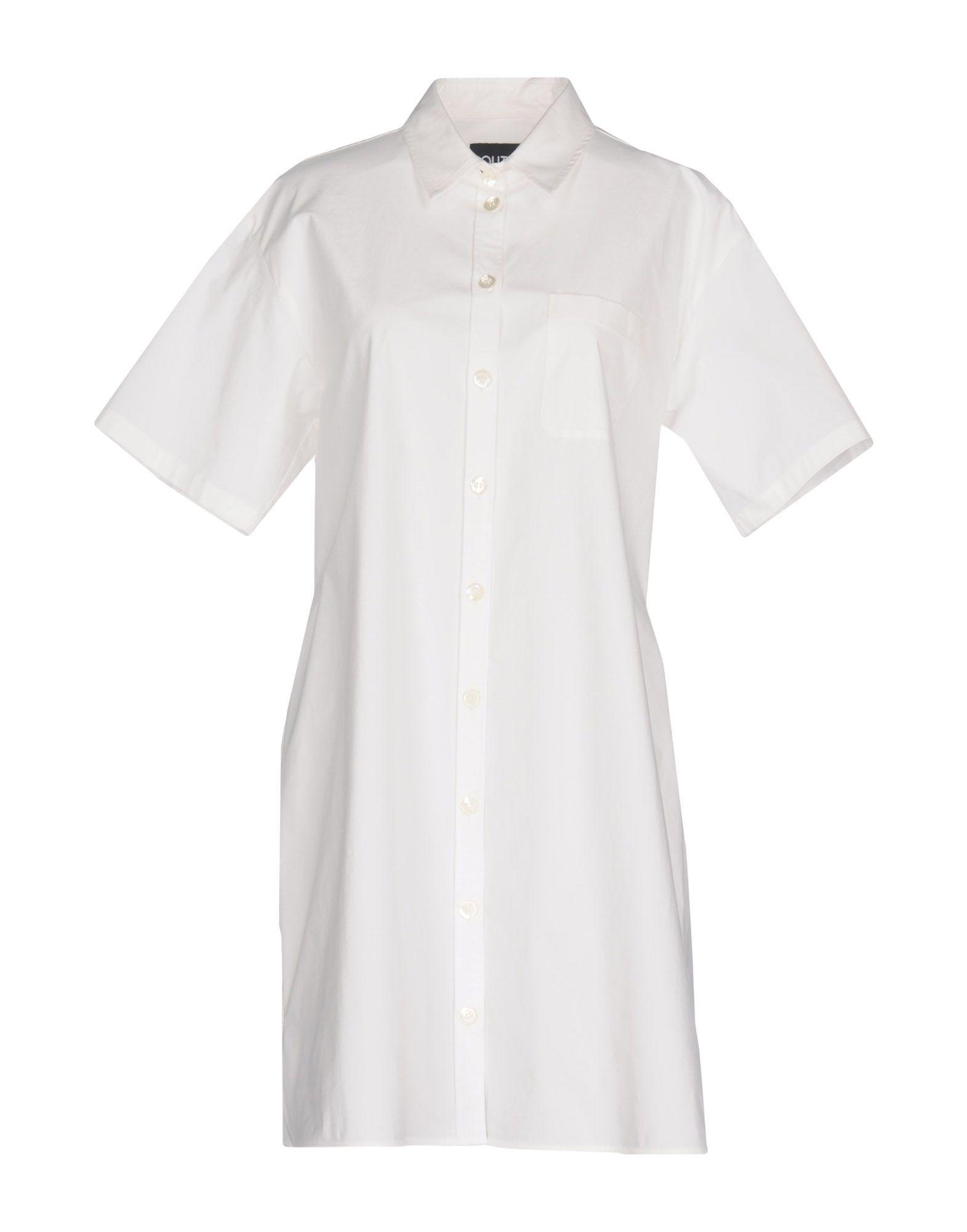 BOUTIQUE MOSCHINO Короткое платье платье рубашка fox yulia sway платье рубашка fox