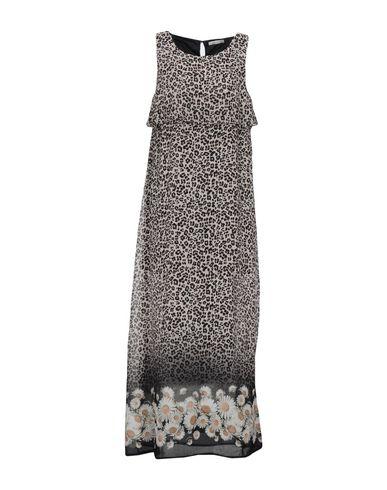 Фото - Женское длинное платье LUCKYLU  Milano светло-серого цвета