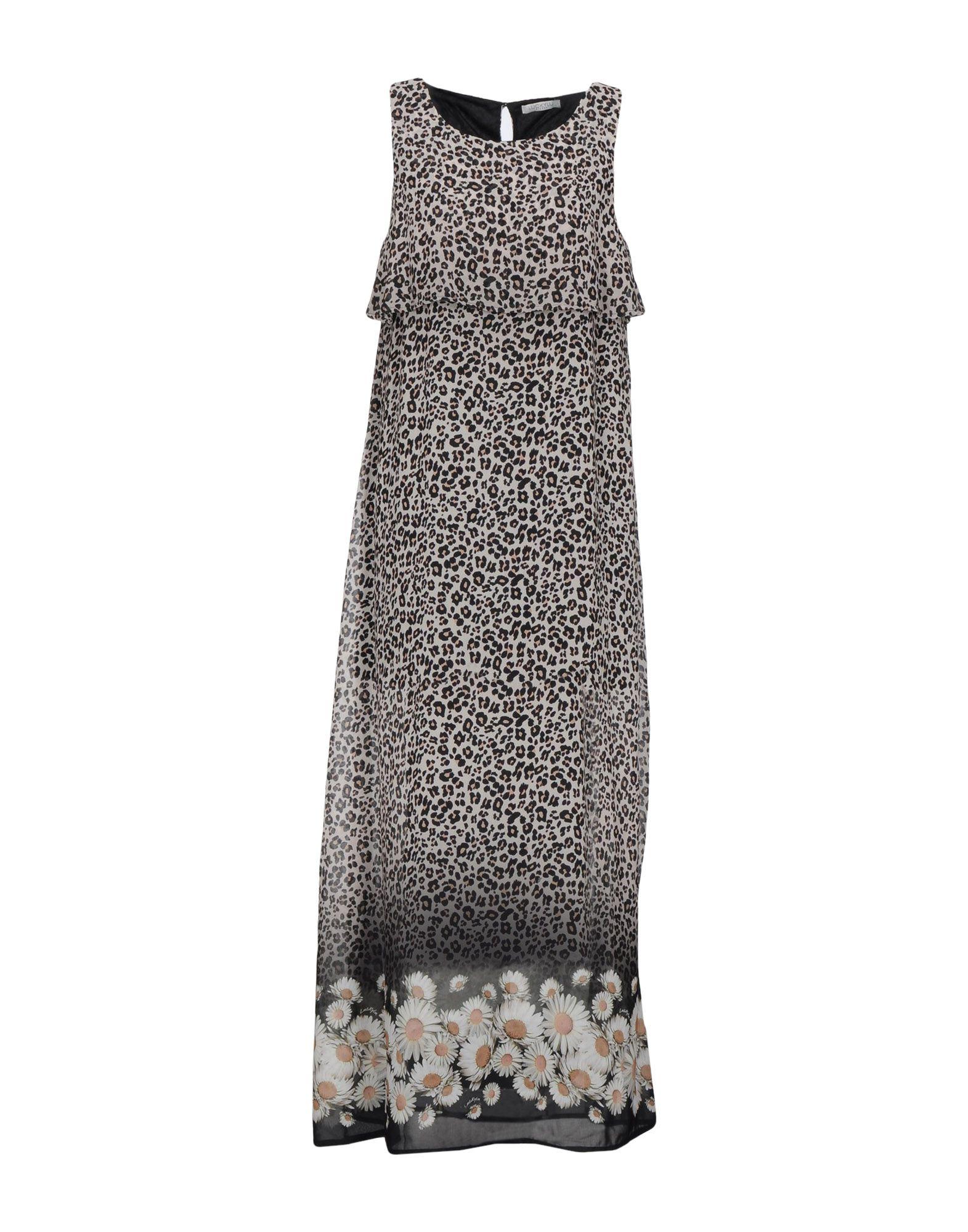 LUCKY LU  Milano Длинное платье платье lucky move lucky move mp002xw0e1zw