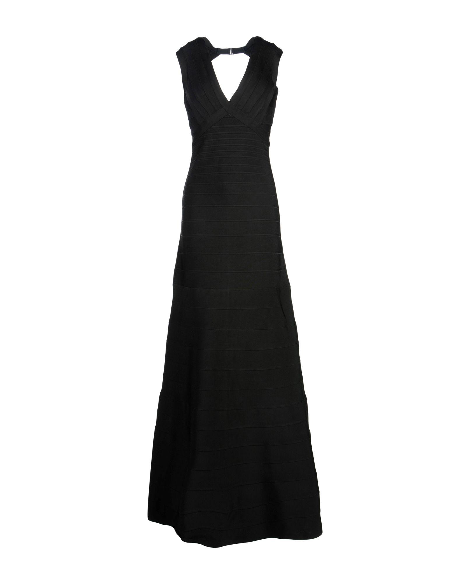 HERVÉ LÉGER Длинное платье hervé léger длинное платье