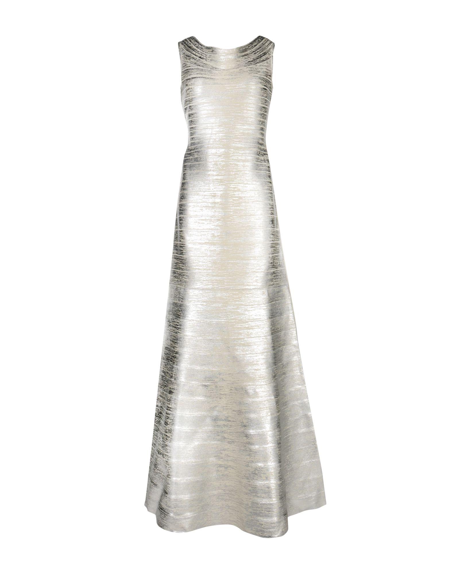 ФОТО hervé léger длинное платье