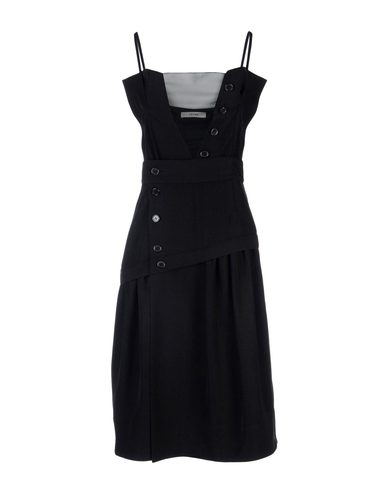 CELINE Платье до колена