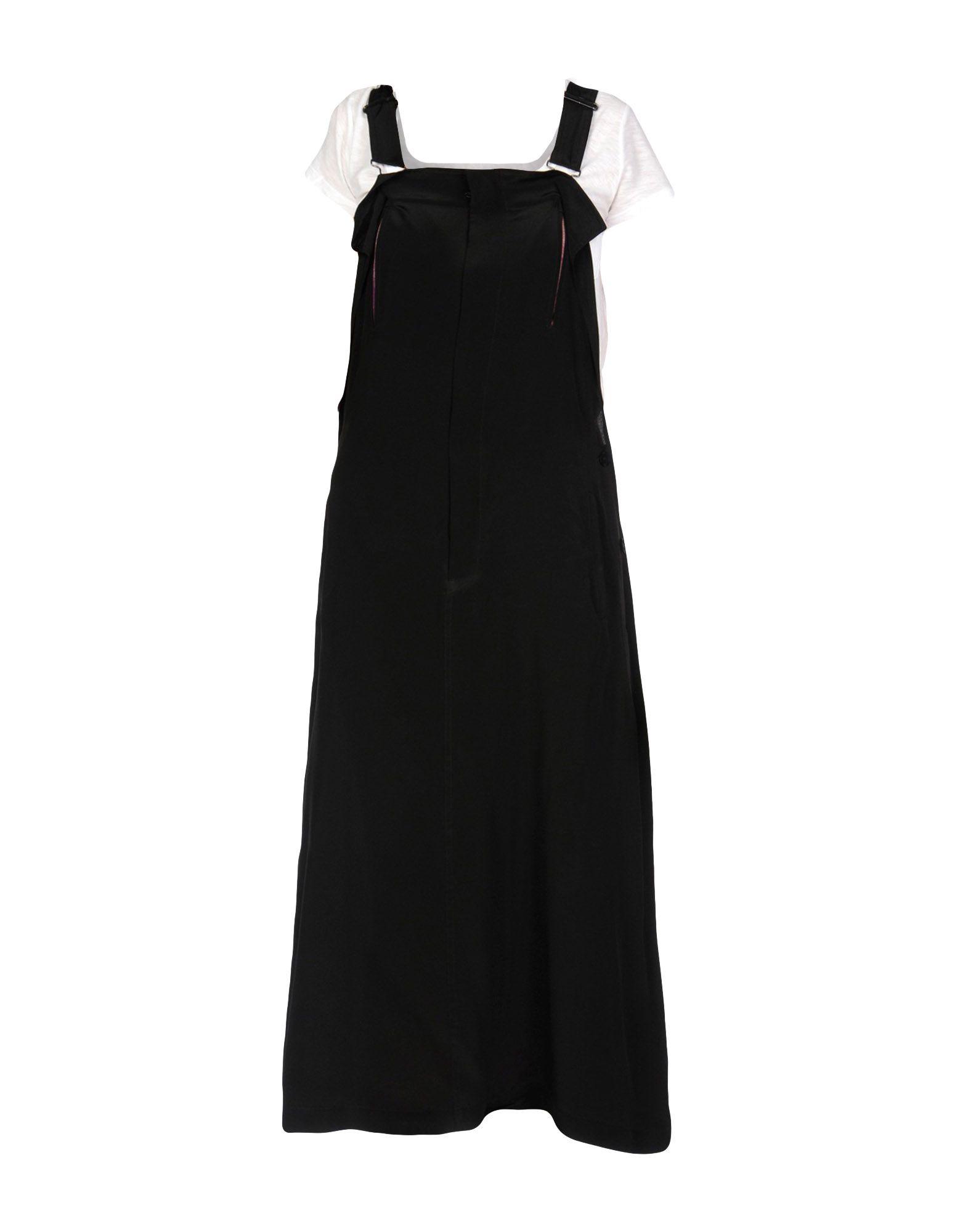 YOHJI YAMAMOTO Платье длиной 3/4 сумка other y3 yohji yamamoto t 3