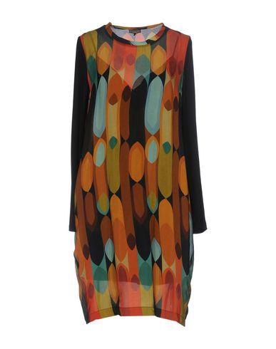 Фото - Женское короткое платье MALÌPARMI цвет охра