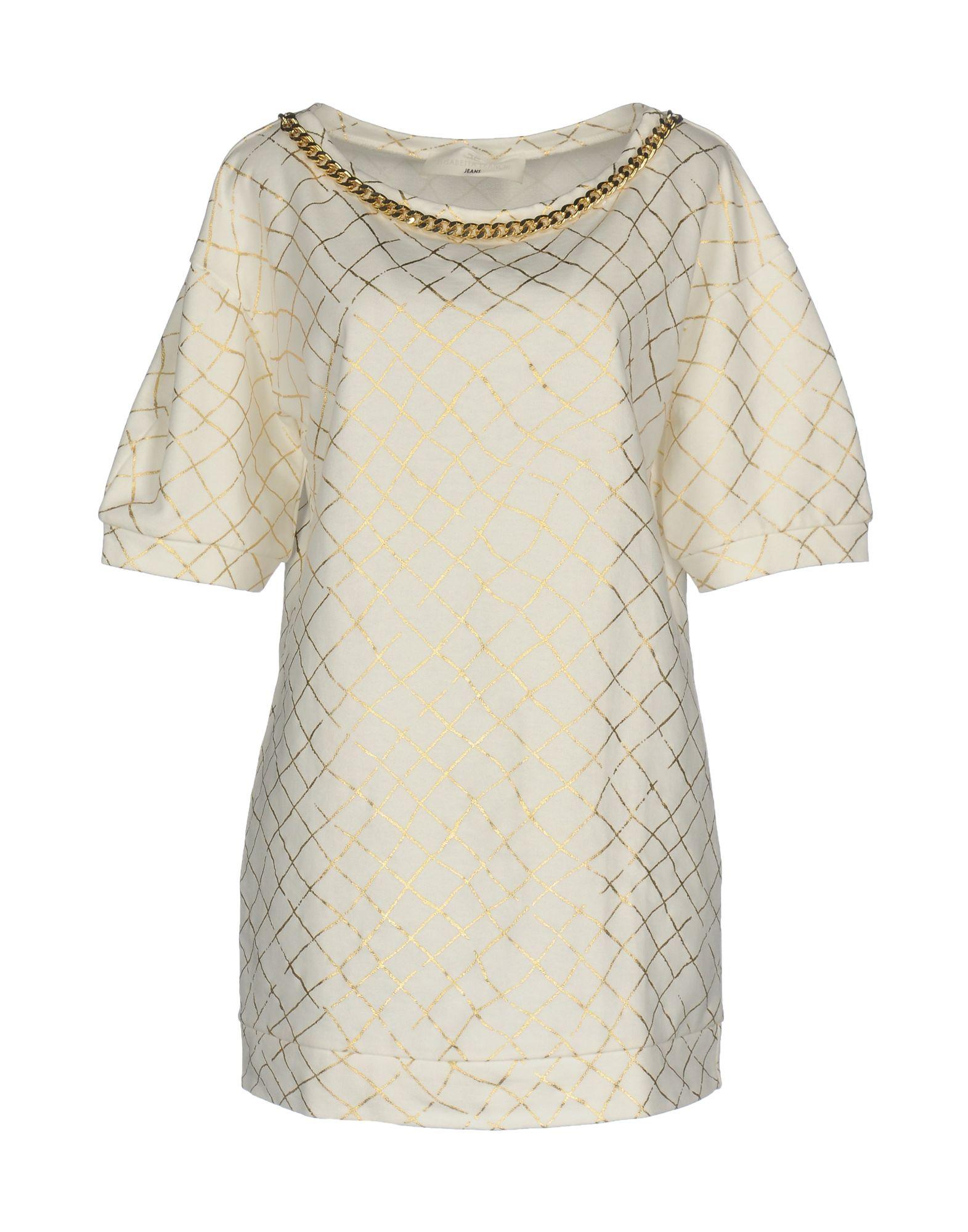 ELISABETTA FRANCHI JEANS Короткое платье платье