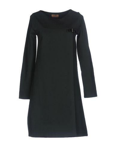 Короткое платье размер 44, 46, 48, 50 цвет баклажанный, зелёный, черный