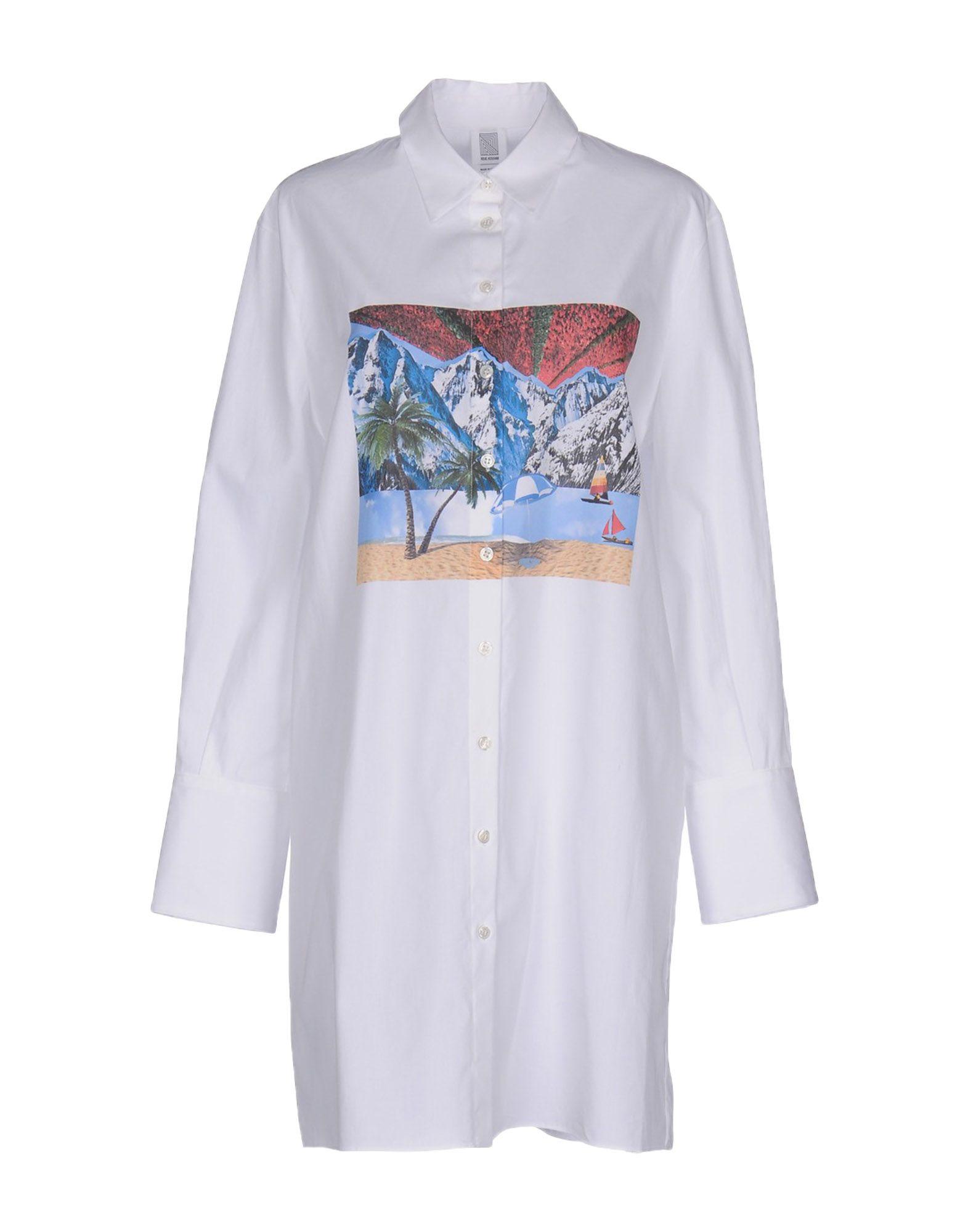 ROSIE ASSOULIN Короткое платье rosie assoulin блузка