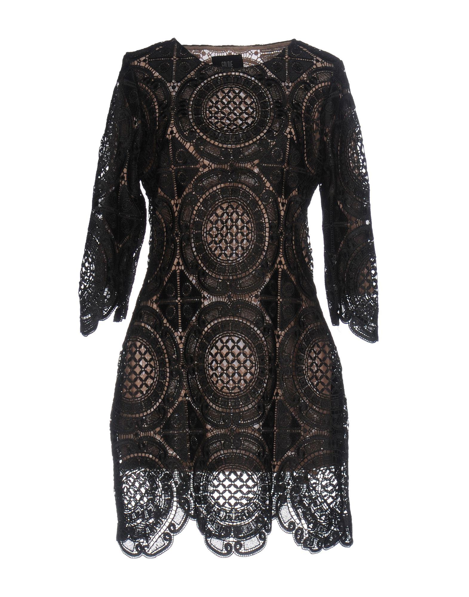 GOLDIE LONDON Short Dress in Black