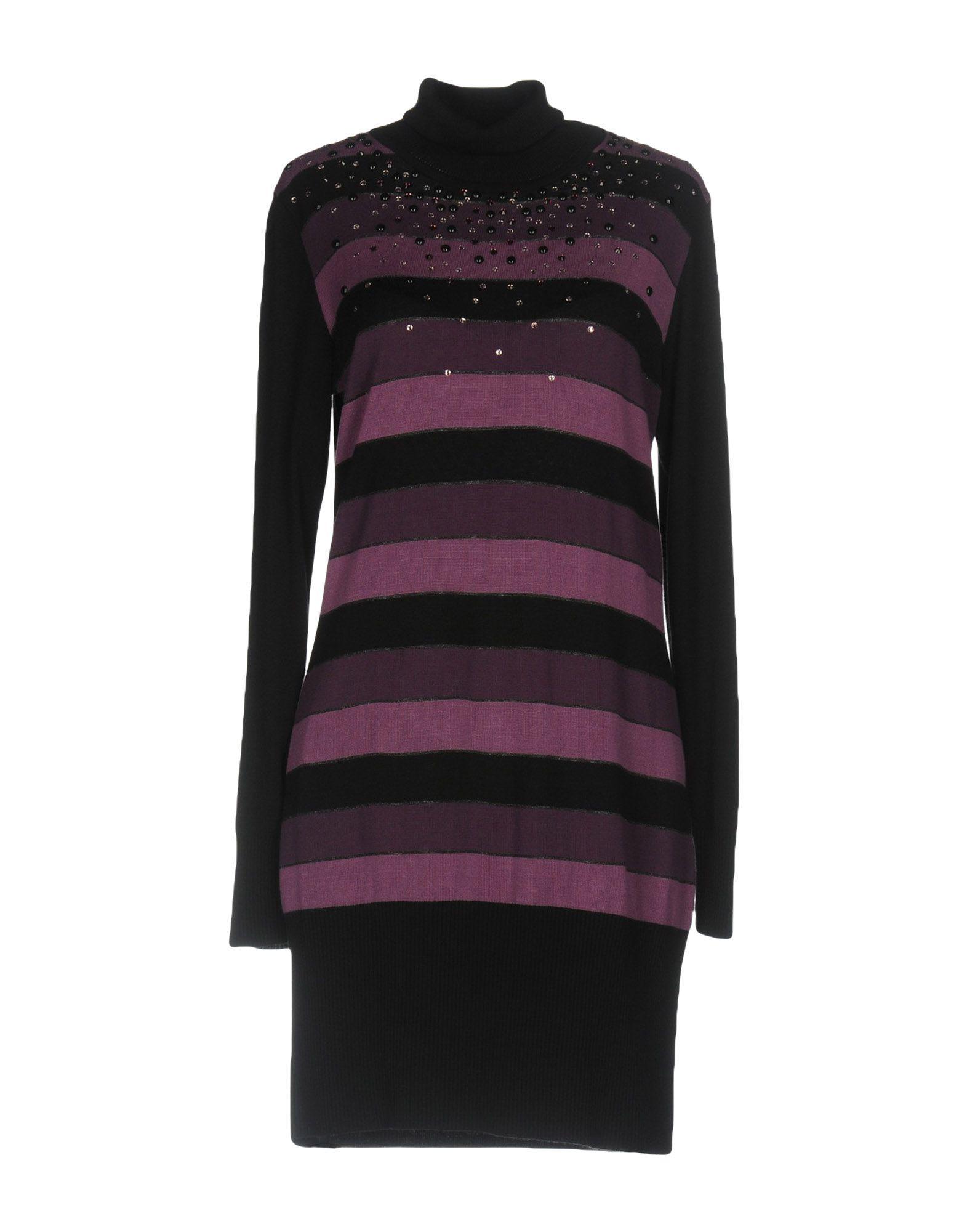 ELISA FANTI Короткое платье запонки fanti 10 c 1052 20 e