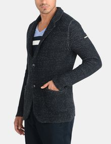 ARMANI EXCHANGE MARLED YARN KNIT BLAZER Blazer Man d
