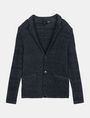 ARMANI EXCHANGE MARLED YARN KNIT BLAZER Blazer Man b