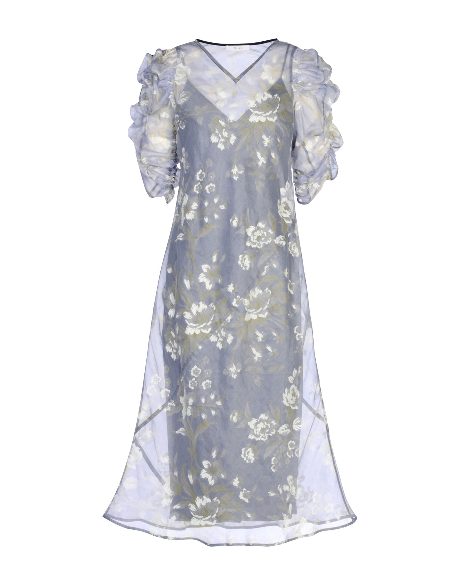 CELINE Платье до колена платье туника celine