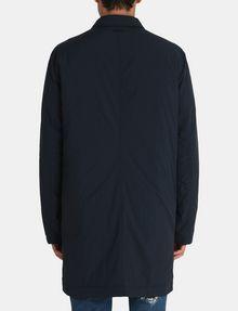 ARMANI EXCHANGE CAMO-LINED SLEEK TRENCH COAT Coat Man r